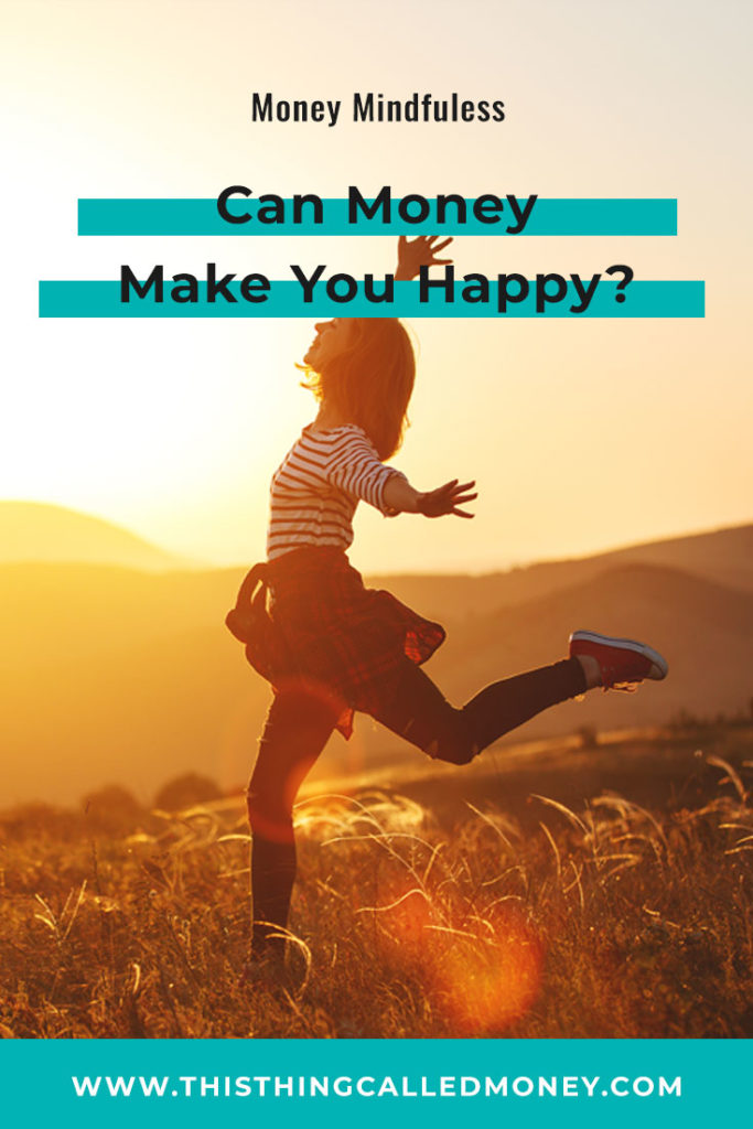 woman jumping for your outside as she is money happy