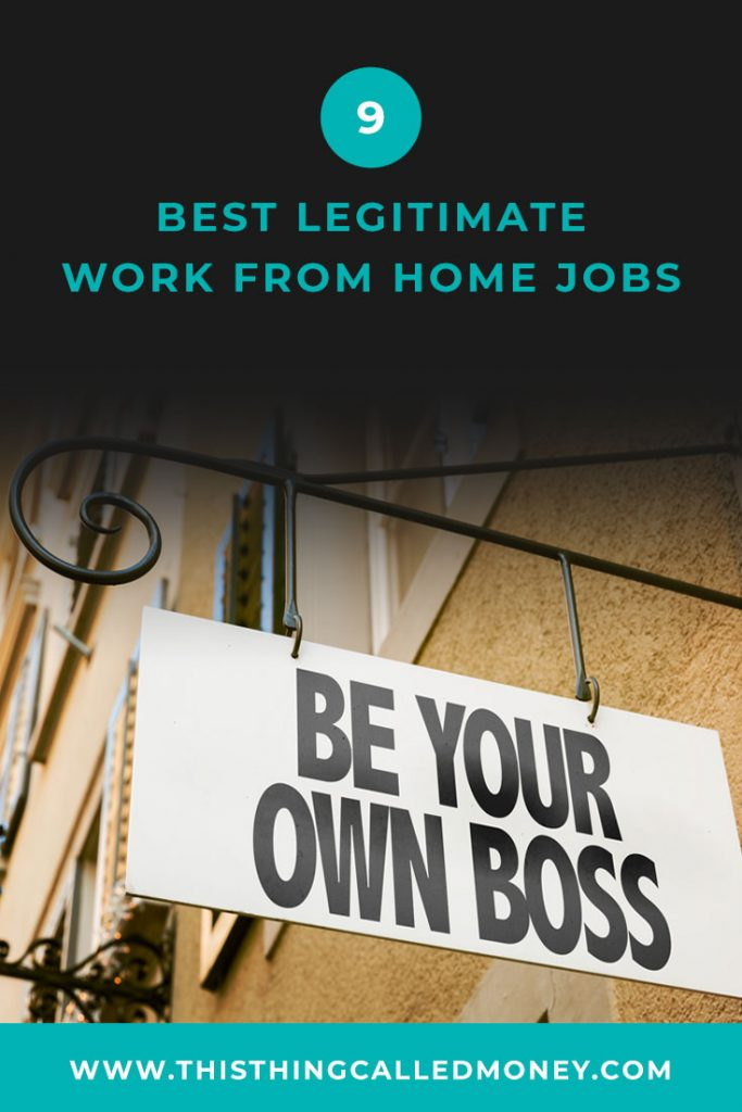 sign attached to side of wall saying 'be your own boss'